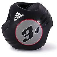 Adidas Adbl-10413 5 Kg Dual Grip Medicine Ball - Black / Red