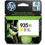 HP 935XL Cartouche d'Encre Jaune Grande Capacité Authentique (C2P26AE)