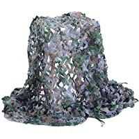 Camo Netting, Camouflage Net Army Mesh Nets Lightweight Durable for Sunshade Decoration Hunting Blind Shooting Camping Photography Jungle