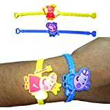 Party Propz Peppa Pig Band (Set of 24) for Peppa Pig Party Supplies