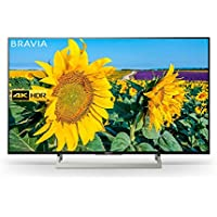 Sony Bravia KD43XF8096 43-Inch Android 4K HDR Ultra HD TV with Voice Remote/YouView and Freeview HD - Black (2018 Model)