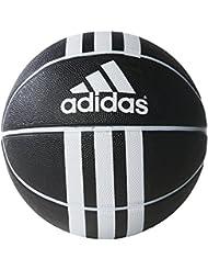 adidas 3S Rubber X Balón, Unisex adulto, Negro / Blanco, 7