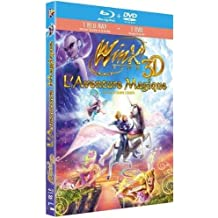 coffret COMBO WINX le FILM en 3d [Blu-ray] + le DVD