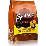 Senseo Kaffeepads Strong / Kräftig, Kraftvoller Geschmack, Kaffee, 48 Pads