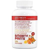 SmartyPants Dei bambini All-in-One Multivitaminico Plus Omega-3 plus Vitamina D - 120