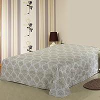 Singola letto singolo matrimoniale lenzuola di cotone/ cotone a righe stampato biancheria da letto-R 230x245cm(91x96inch)