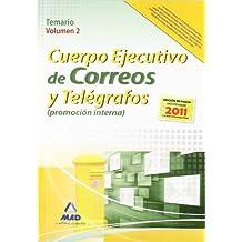 Temario Ii - P.Interna - Cuerpo Ejecutivo Correos Y Telegrafos (Correos 2012)