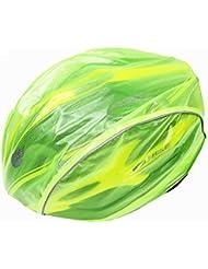 West Biking - Funda paravientos, impermeable, para casco de bicicleta MTB, unisex, mujer hombre Niños, verde