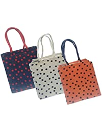 Maheshwari Reusable Shopper Bag, Pack Of 3 Bags