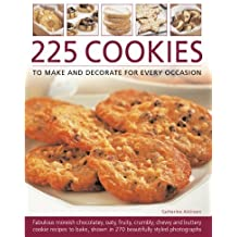 225 Cookies to Make and Decorate for Every Occasion by Catherine Atkinson (2010-09-14)