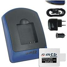 Baterìa + Cargador (USB/Coche/Corriente) para Qumox SJ4000, SJ5000, SJ6000 / SJCam M10 ... / Acme VR03 / Ekoo E3