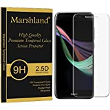 Marshland® Huawei P8 Lite Mobile Tempered Glass Screen Protector 2017 Little Bit Small 99% Transparency 9H Hardness Sensitive Touch Screen Tempered Glass