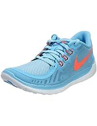 Nike Free 5.0, Running Fille, Mehrfarbig