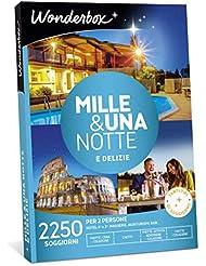 WONDERBOX Cofanetto Regalo - Mille & Una Notte E DELIZIE - 2250 SOGGIORNI per 2 Persone