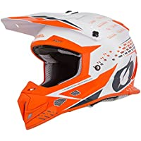 ONeal 3Series Helm Freerider Fidlock Orange Grau MX Motocross Enduro Quad Cross 0626-20