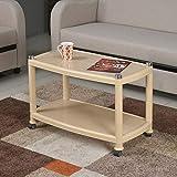 Nilkamal CENTBL5 Plastic Center Table (Marble Beige)
