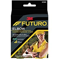 Preisvergleich für Futuro 45980EN Tennis-Armband für Ellenbogen, einstellbarer Druck