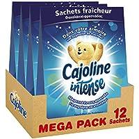 Cajoline Intense Sachets Fraîcheur Printanière pour l'Armoire 12 Sachets (Lot de 4x3 Sachets)