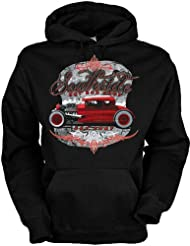 Southside Hot Rod Baumwolle, Kapuzensweatshirt Southside hot rod shop cooles Design mit heißem Auto
