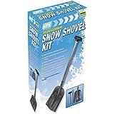 Maypole 6944 Deluxe Aluminium Telescopic Snow Shovel Kit