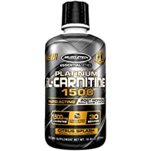 Muscletech Essential Series 100% L-carnitine - 30 Servings (Citrus Splash)