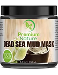 Dead Sea Mud Mask for Face and Body–8Oz