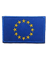 Nider Flag Armband Outdoor Flags Flag Patch Embroidery Armband Chic Countries Flag Magic Armband Stickers Patches (European Union)