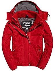 Superdry Herren Sportjacke Pop Zip Hood Arctic Wndcheater