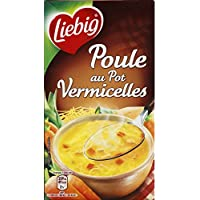 Liebig - Poule au pot aux vermicelles - La brique de 1L - Prix Unitaire - Livraison Gratuit Sous 3 Jours