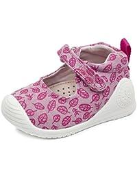Biomecanics 172155, Zapatillas Bebé-Niña, Varios Colores (Rosa / Estampado Hojas), 24 EU