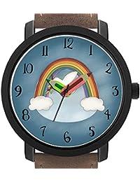 Regalo para Adultos, niños o cumpleaños. Bonito Reloj de Pulsera con Forma de lápiz