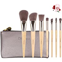 DUcare 7-Piece Eco Bamboo Starter Brush Set with Pouch Bag by DUcare