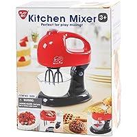 Playgo Mixer Manuale Miscelatore Mixer verticlae con Ciotola real Funzioni rosso