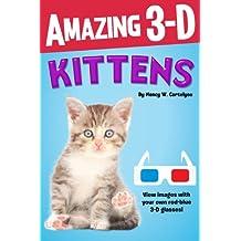 Amazing 3-D: Kittens (English Edition)