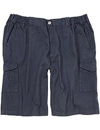 Cargo Shorts in blau von Greyes in großen Größen bis 8XL