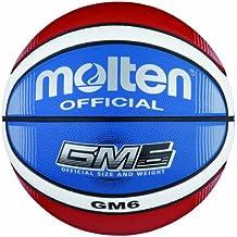 sale retailer c564a a1f49 Molten BGMX6-C Ballon de basket Rougeblancbleu Taille 6