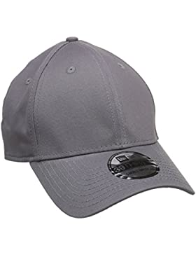 A NEW ERA Baseball Cap Mütze 39Thirty Stretch Back - Gorra para hombre, color gris (graphite), talla S/M