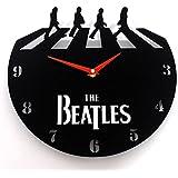 Reloj de pared original The Beatles Abbey Road, moderno, metacrilato, silencioso
