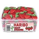 Haribo Giant Strawberries (tub of 120)