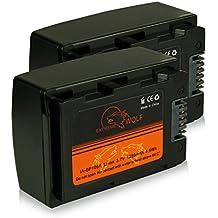 Bundle - 2x Power Batteria IA-BP105R per Samsung HMX-F80 | HMX-F90 | HMX-F91 | HMX-F800 | HMX-F810 | HMX-F900 | HMX-F910 | HMX-F920 | HMX-H200 | HMX-H203 | HMX-H204 | HMX-H205 | HMX-H220 | HMX-H300 | HMX-H303 | HMX-H304 | HMX-H305 | HMX-H320 | HMX-H400 | HMX-H405 | SMX-F40 | SMX-F43 | SMX-F44 | SMX-F50 | SMX-F53 e più…