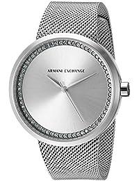 Emporio Armani Analog Silver Dial Women's Watch - AX4501