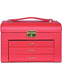 Mystyle Label Jewellery/Cosemtic/ Makeup And Vanity Box With Lock And Key Facility
