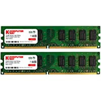 Komputerbay - Modulo di memoria DIMM DDR2 da 4 GB