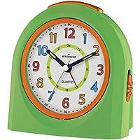 ATRIUM Wecker analog weiß ohne Ticken Wohnaccessoires & Deko Uhren & Wecker mit Licht und Snooze A240-0