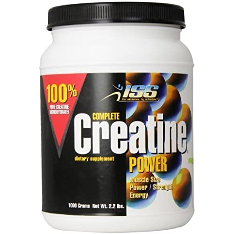 ISS Research Complete Creatine Power, 2.2-Pound Plastic Jar by ISS Research