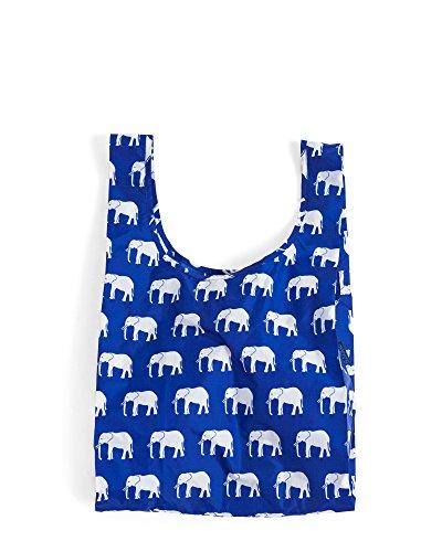 One Size , Elephant Blue : Baggu Standard Reusable Shopping Bag, Elephant Blue