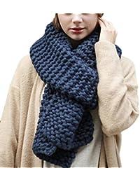 HUHU833 Écharpe femme hiver écharpe châle écharpe tricotées longue écharpe c02bd2c6c18