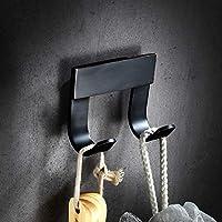 Comparador de precios TT Negro Antiguo toallero Paquete Toalla Gancho baño baño Hardware Colgante Conjunto baño Estilo Europeo - precios baratos