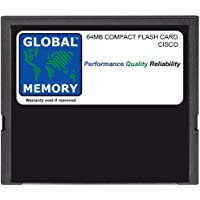 64MB COMPACT FLASH SCHEDA MEMORIA PER CISCO 3631 ROUTER (MEM3631-64CF , MEM3631-32U64CF)