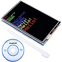 kuman 3.5 TFT Touch Screen with SD Card Socket for Arduino Mega 2560 Board Module with Touch Function SC3A-1